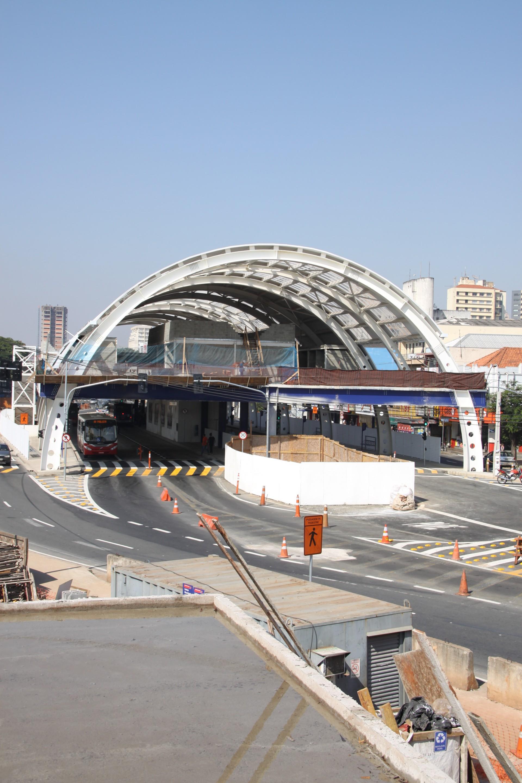 Cidades   Terminal Metropolitano Em Americana   Rua Dr Antonio Lobo  Obras Paradas   Corredor Metropolitano 564709
