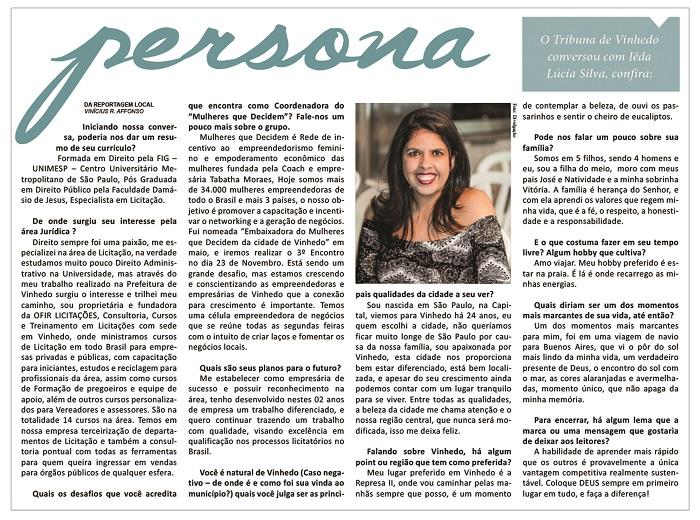 Jornal Tribuna De Vinhedo