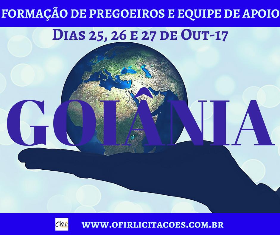 Inscrições Abertas Para O Curso De Formação De Pregoeiros Em Goiânia-GO